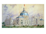 Columbian Exposition, 1893 Print by Childe Hassam