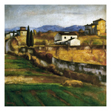 Soffici: Hill, 1922 Giclee Print by Ardengo Soffici