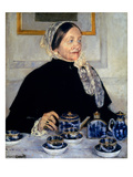 Cassatt: Lady At Tea, 1885 Giclee Print by Mary Cassatt