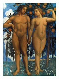 Maurice Denis: Adam & Eve Giclee Print by Maurice Denis