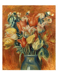 Renoir: Bouquet Of Tulips Prints by Pierre-Auguste Renoir