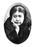 Elena Petrovna Blavatsky (1831-1891). Russian Traveller And Theosophist Posters
