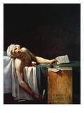 The Death Of Marat Giclee Print by Jacques-Louis David