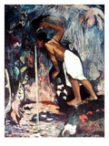 Gauguin: Pape Moe, 1892 Prints by Paul Gauguin