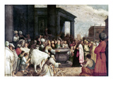 Paul And Barnabas Giclee Print by Adriaen van Stalbemt