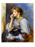 Renoir: Woman Reading Giclee Print by Pierre-Auguste Renoir