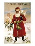 American Christmas Card Print