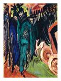 Kirchner: Street Scene Prints by Ernst Ludwig Kirchner