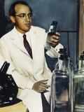 Jonas Salk (1914-1995) Photographic Print