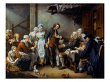 Greuze: The Village Bride Poster by Jean-Baptiste Greuze