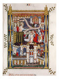 St. Denis Preaching, 1317 Print