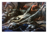 Plague In Marseilles, 1720 Giclee Print by Michel Serre