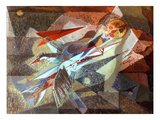 Bird Pierced By Arrows Giclee Print by André Masson