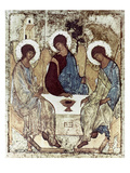 Russian Icons: The Trinity Giclee Print by Andrei Rublev