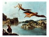 Carlo Saraceni: Icarus Giclee Print by Carlo Saraceni