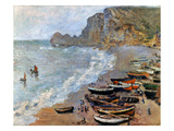 Claude Monet: Etretat, 1883 Giclee Print by Claude Monet