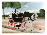 Rousseau: Cart, 1908 Giclee Print by Henri Rousseau