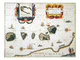 Moluccas: Spice Islands Giclee Print by Jan Blaeu