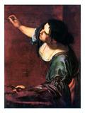 Artemisia Gentileschi Print by Artemisia Gentileschi