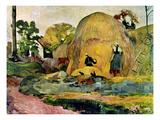Gauguin: Haystacks, 1889 Posters by Paul Gauguin