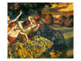 Degas: Four Dancers, C1899 Giclee Print by Edgar Degas
