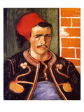Van Gogh: The Zouave, 1888 Giclee Print by Vincent van Gogh