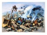 Nast: Tweed Ring Downfall Posters by Thomas Nast