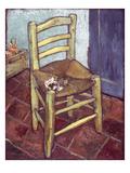Van Gogh: Chair, 1888-89 Print by Vincent van Gogh