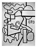 Davis: Cliche, 1955 Giclee Print by Stuart Davis