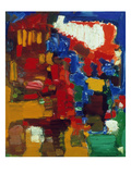 Hofmann: Golden Blaze Giclee Print by Hans Hofmann