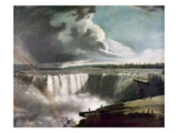 Morse: Niagara Falls, 1835 Giclee Print by Samuel Finley Breese Morse