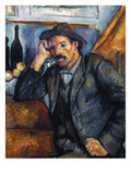 Cezanne: Pipe Smoker, 1900 Giclee Print by Paul Cezanne