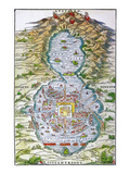 Tenochtitlan (Mexico City Giclee Print