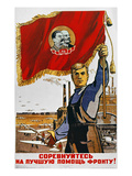 WWII: Russian Poster, 1942 Giclee Print