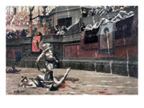 Gerome: Gladiators, 1874 Premium Giclee Print by Jean Leon Gerome
