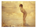 Chabas: September Morn Giclee Print by Paul Chabas