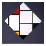 Mondrian: Composition Posters by Piet Mondrian