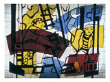 Leger: Builders, 1950 Giclee Print by Fernand Leger