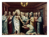 Jesus &amp; Disciples Giclee Print by John P. Landis