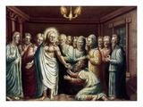 Jesus & Disciples Giclee Print by John P. Landis