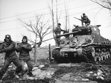 Korean War: Tank, 1951 Photographic Print