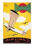 Aviation Poster, 1926 Giclee Print