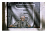 Diego Rivera: Henry Ford Giclee Print by Diego Rivera