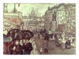 Bonnard: Place Clichy, C1895 Poster by Pierre Bonnard