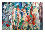 Delaunay: City Of Paris Prints by Robert Delaunay