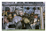 Diego Rivera: Detroit Giclee Print by Diego Rivera