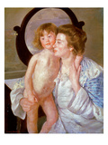 Cassatt: Mother And Boy Posters by Mary Cassatt