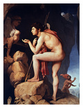 Ingres: Oedipus Giclee Print by Jean-Auguste-Dominique Ingres