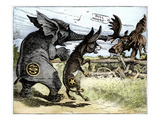Bull Moose Campaign, 1912 Giclee Print by W.A. Carson