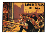 England: Labour Poster Poster